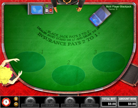jet bingo multi-player blackjack online casino game