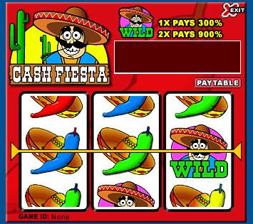 jet bingo cash fiesta 3 reel online slots game